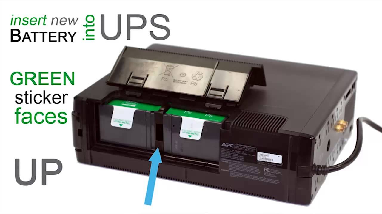 How to Replace an APC Back-UPS Pro Battery - APC UPS Blog