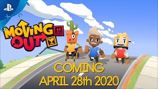 Moving Out - Release Date Announcement | PS4
