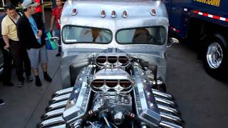 1960 Peterbilt Hotrod Truck called Piss'd Off Pete