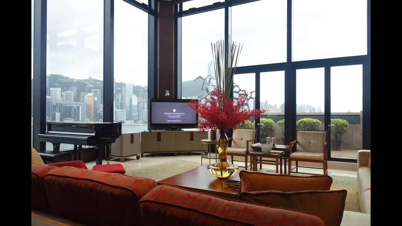 Intercontinental Hong Kong Presidential Suite Youtube