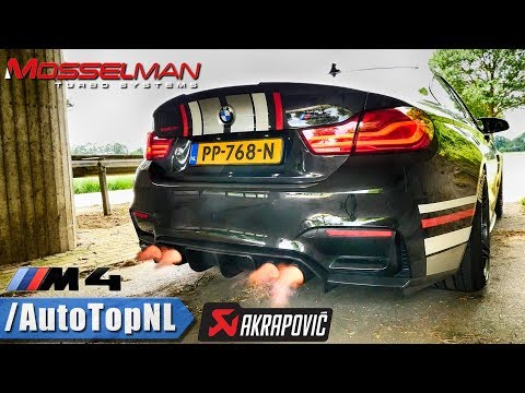 BMW M4 620HP | AKRAPOVIC STRAIGHT PIPE | Onboard REVS & EXHAUST Sound TUNNEL By AutoTopNL