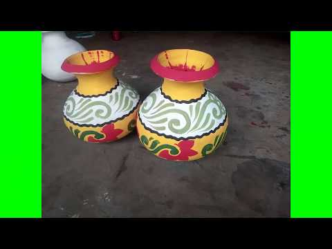How To Easy  Pot Painting | Rahim Art