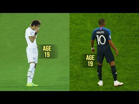 Mbappé is Good but... Neymar was a Monster at 19!