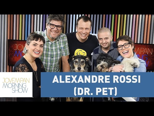 Alexandre Rossi (Dr. Pet) - Morning Show - 12/01/17