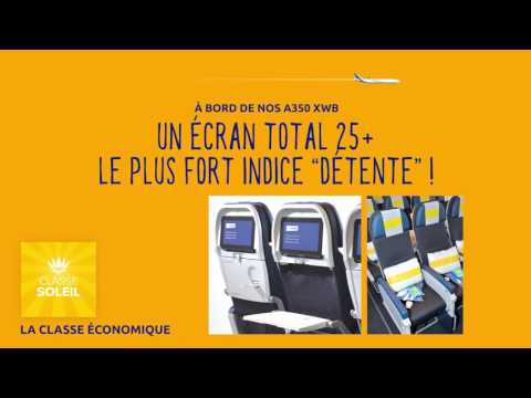 L' A350 XWB d'Air Caraïbes...infiniment confortable !
