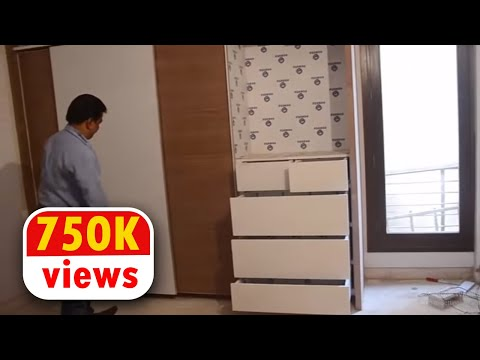 Wardrobes/Almirah Making By Ecoste EBRID Board | 100% Water Termite Proof WPC Board & PVC Board !!