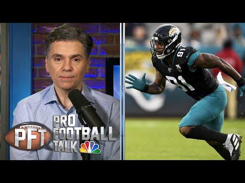 Yannick Ngakoue takes stunning pay cut to leave Jaguars | Pro Football Talk | NBC Sports