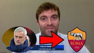 José Mourinho's Move to Roma analysed by Fabrizio Romano!