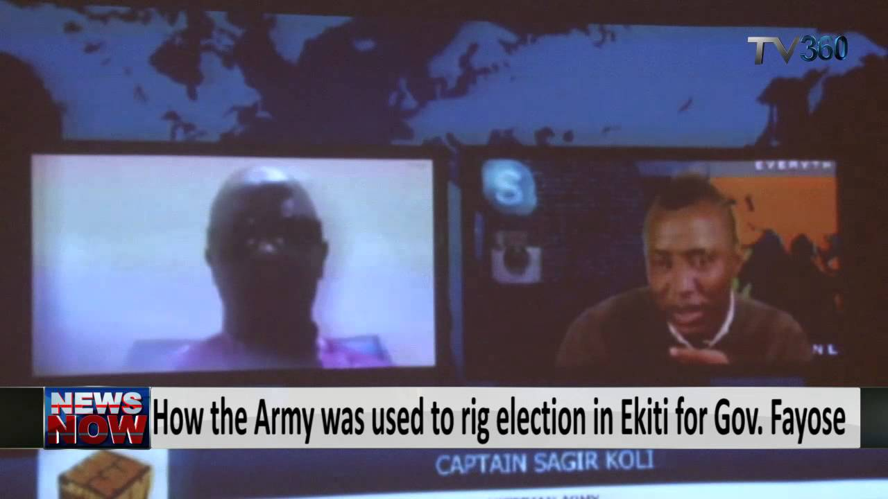 APC: How the Army was used to rig election in Ekiti for Gov. Fayose