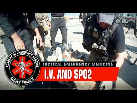 Monitoring the Patient – I.V. and SpO2 / War in Iraq, Mosul offensive (Graphic content)