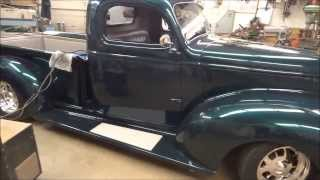 custom 1941 chevy walkaround interior 2016 09 07. Black Bedroom Furniture Sets. Home Design Ideas