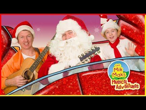 Jingle Bells | Christmas Songs for Kids | Sing-a-long Nursery Rhymes | The Mik Maks