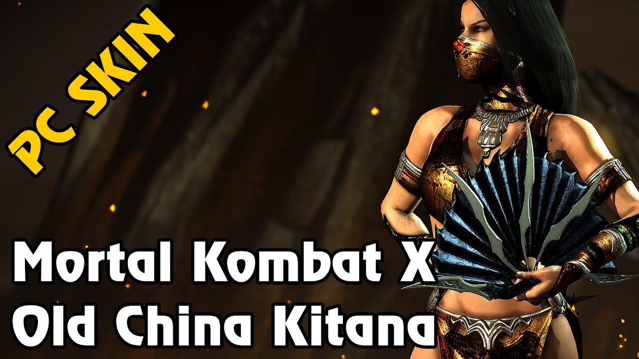 Mortal Kombat X - Old China Kitana Skin (PC MOD)