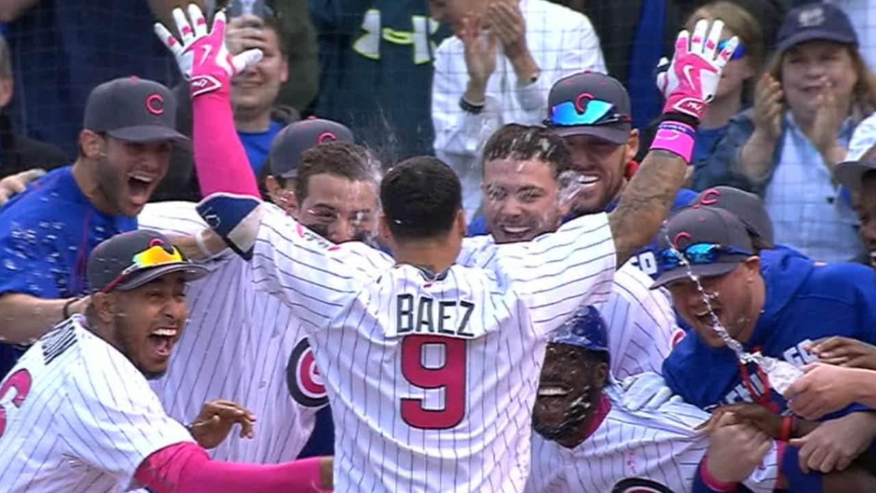 info for 31a56 3b585 5/8/16: Baez's walk-off home run lifts Cubs in extras