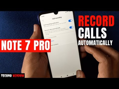 How To Record Calls Automatically In Redmi Note 7 Pro