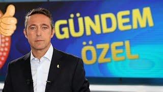 Fenerbahçe başkanı Ali koç gündem özel fb tv canlı yayın