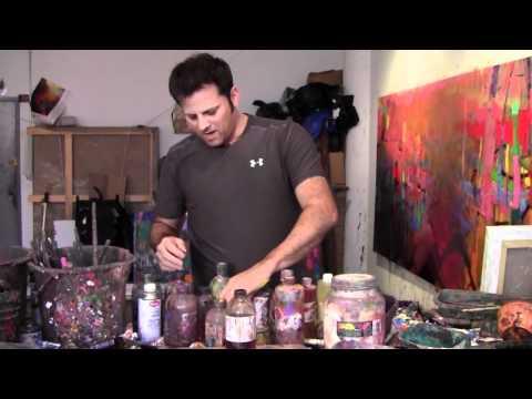 Brian Rutenberg studio visit 15