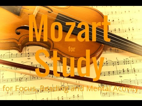 Mozart for Study | Reading | Focus | Mental Activity | Isochronic Tones Binaural Beats
