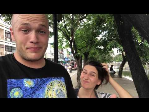 Travel Vloggers : Banks Cast : Thailand Day 3