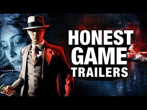 LA NOIRE (Honest Game Trailers)