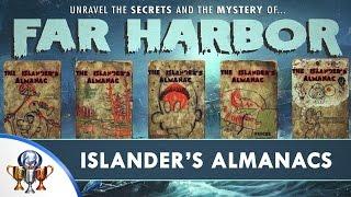 Fallout 4 Far Harbor DLC - Islanders Almanac Magazine Locations All 5 Issues Trophy Guide