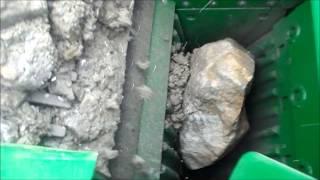 Дробилка для щебня - дробление серного колчедана(, 2014-03-17T06:21:01.000Z)
