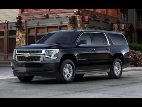2016 chevrolet suburban lt full tour start up youtube. Black Bedroom Furniture Sets. Home Design Ideas