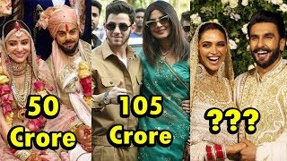 Gambar cover Top 9 Most Expensive Weddings of Bollywood