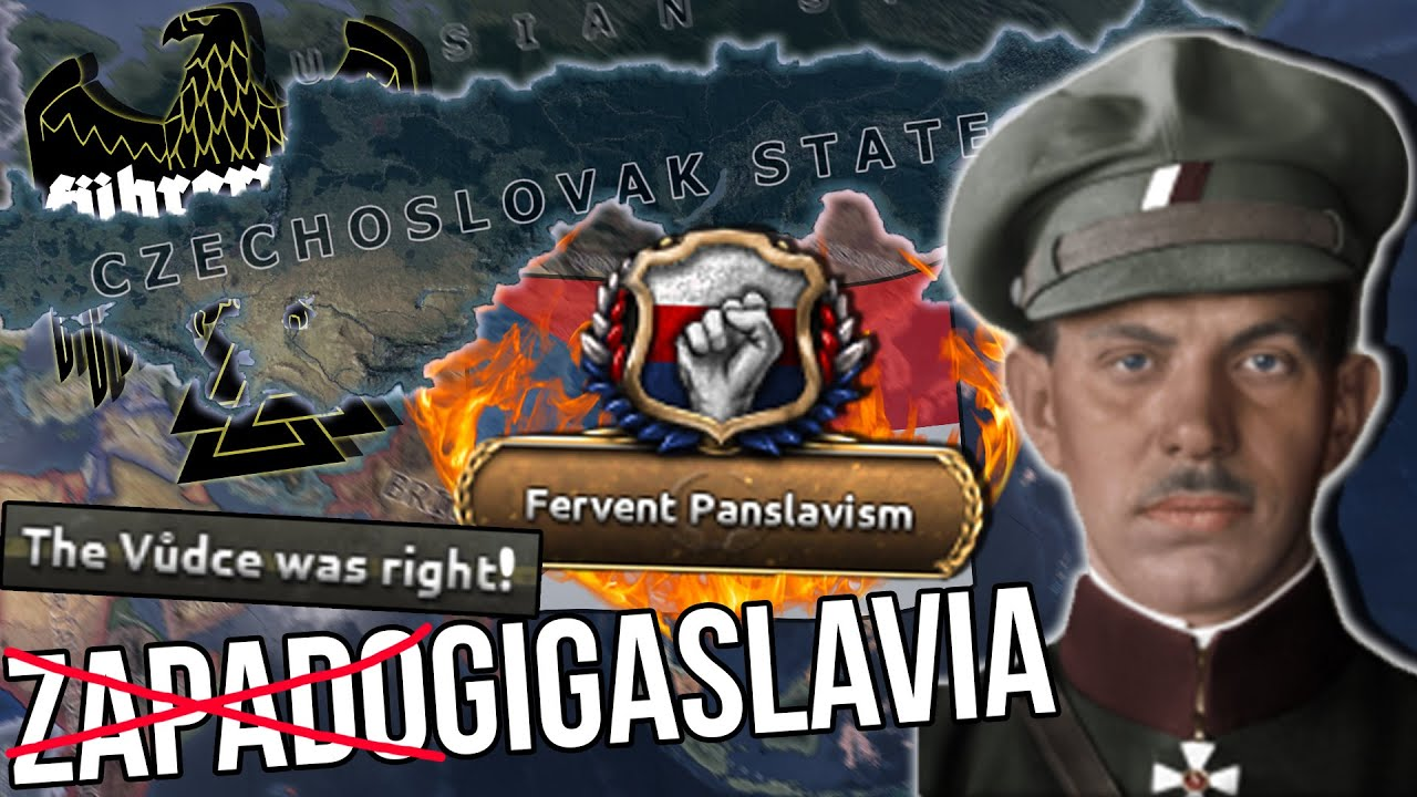 Vůdce Creates Greater Czechoslovakia! Führerreich- Heats of Iron 4