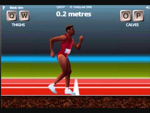 *Review* QWOP- running game