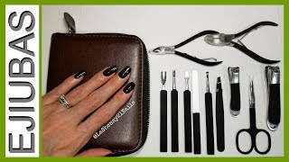 Ejiubas Manicure Pedicure & Grooming Tool Set || LaShenny21Nails