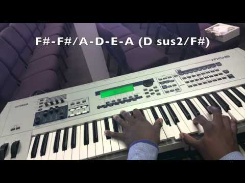Holding On Vashawn Mitchell Simple Chord Voicings Youtube