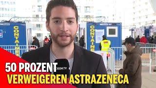 Impf-Alarm: 50 Prozent verweigern AstraZeneca