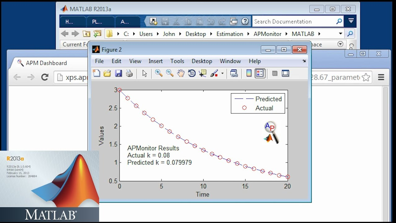 MATLAB (APM toolbox) for ODEs and DAEs