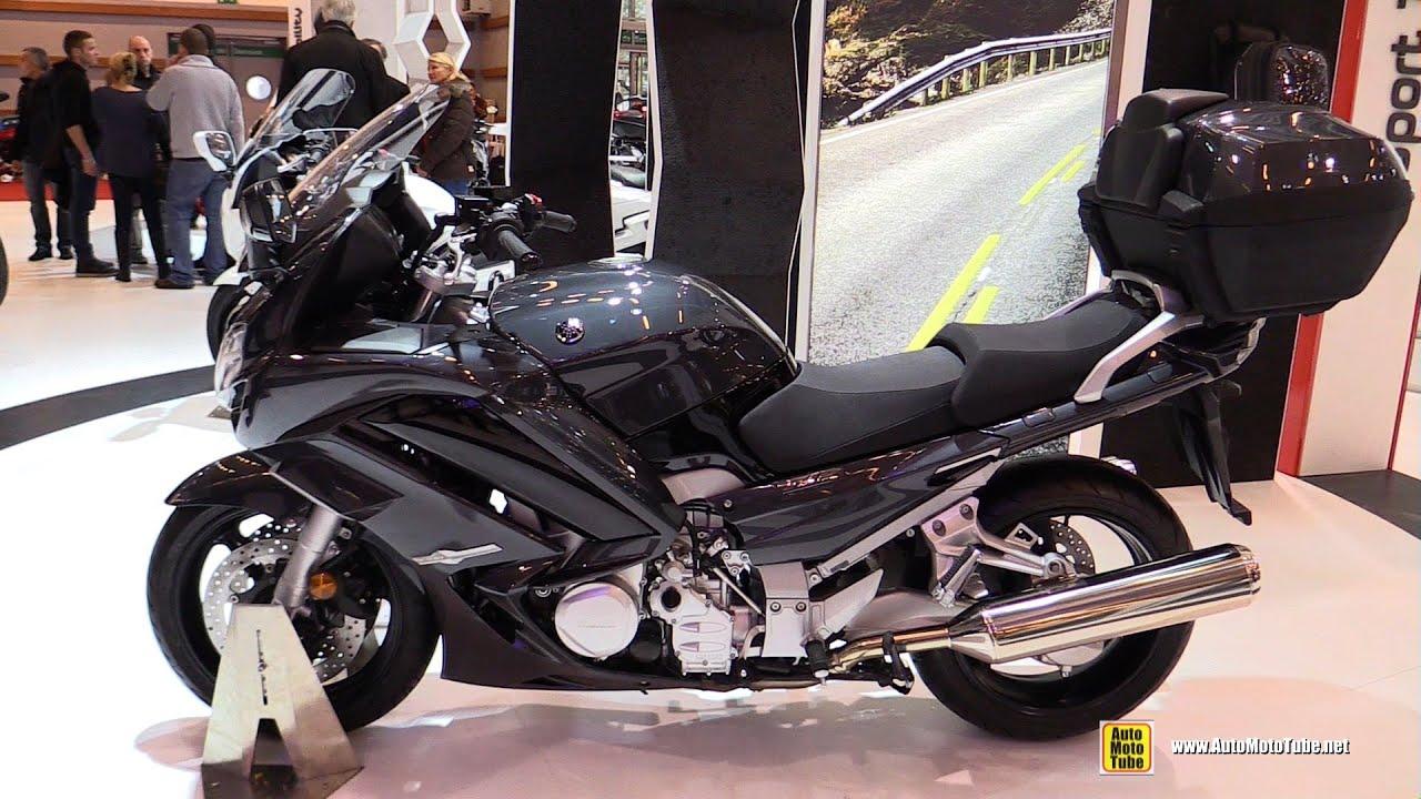 2016 yamaha fjr1300 abs walkaround debut at 2015 salon de la moto paris youtube. Black Bedroom Furniture Sets. Home Design Ideas