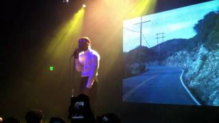 Frank Ocean - Acura Integurl FULL VERSION LIVE (Los Angeles, El Rey Theatre 11/15/11)