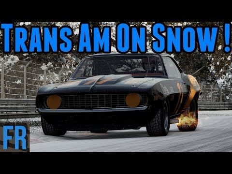 Project Cars 2 - Trans Am Camaro On Snow !