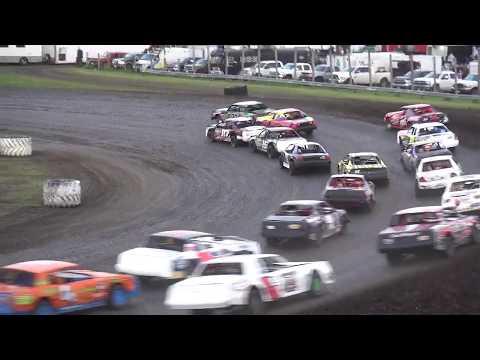 IMCA Stock Car feature Benton County Speedway 6/9/19