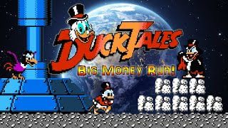 #Ducktales #DucktalesNES DuckTales - NES - BIG MONEY RUN & ZERO MONEY RUN (All Endings, Deathless)