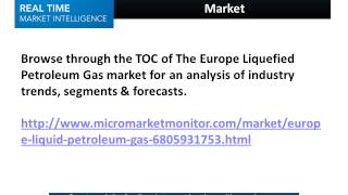 Europe Liquefied Petroleum Gas Market
