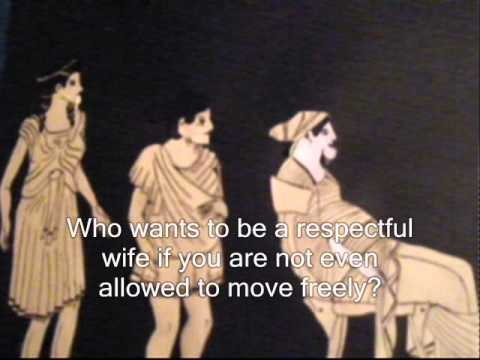 The position of women in Ancient Greece