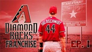 MLB 15 The Show PS4: Arizona Diamondbacks Franchise: Ep. 1: INTRODUCTION