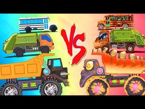 Good Vs Evil | Car Cartoon Videos For Children by Kids Channel