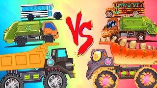 Good Vs Evil | Car Cartoon Videos For Children by Kids Channel