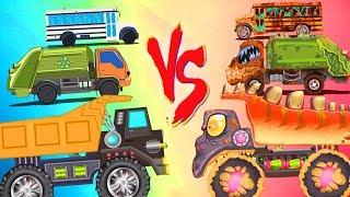 İyi Vs Çocuklar İçin Çocuk Kanalı tarafından | Araba Çizgi film Videoları Kötü