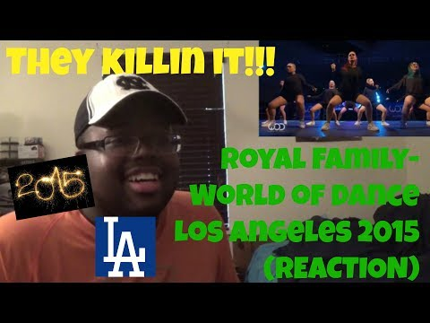 Royal Family  World of Dance Los Angeles 2015 (REACTION)