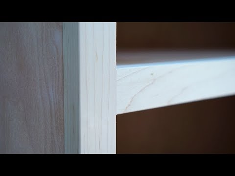 Making A Solid Wood Face Frame For A Cabinet