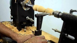 Megaturn Woodturning Lathe: Copying From A Template