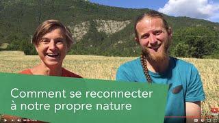 KIM PASCHE : comment se reconnecter à notre propre nature (rencontre)