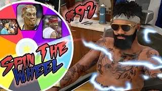 SPIN THE WHEEL of NBA HAIR STYLES & BEARDS!! NBA 2k18 MyCAREER Playoffs Ep.92